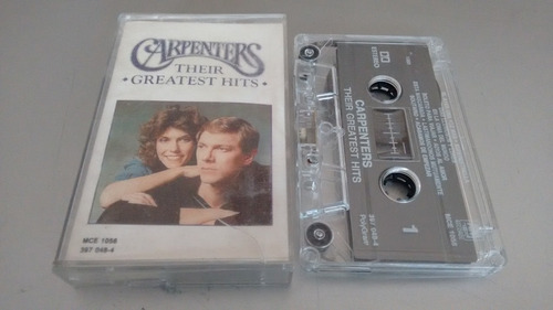 cassette carpenters their greatest hits en formato cassette
