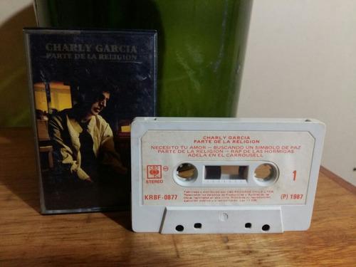 cassette charly garcia  parte de la religion