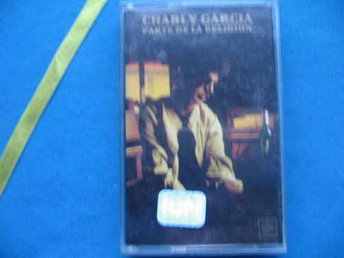 cassette charly garcia - parte de la religion