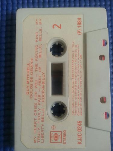 cassette colección idolos de siempre / guy mitchell