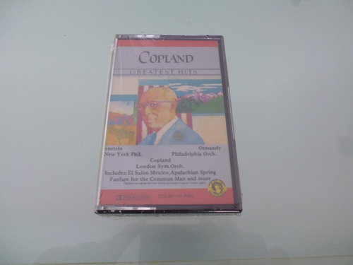 cassette / copland  greatest hits / copland grandes exitos /