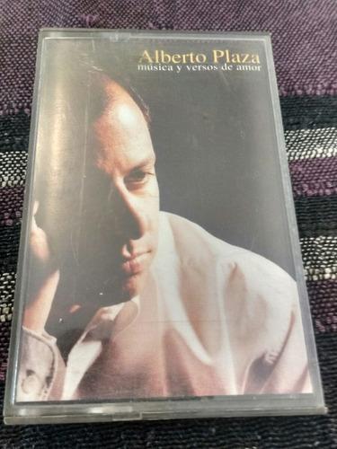 cassette de alberto plaza musica y versos de amor (c-15