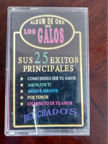 cassette de album de oro de los galos (200