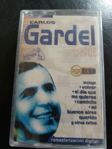 cassette de carlos gardel  gardel (c652