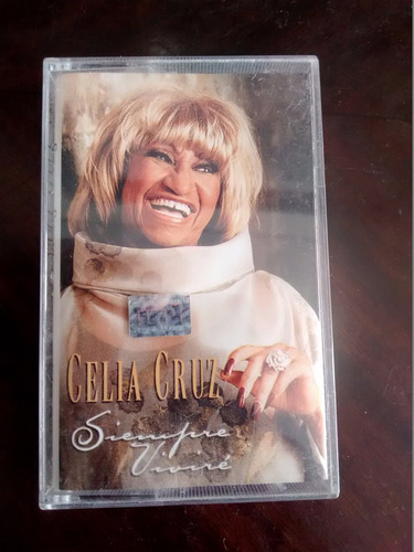 cassette de celia cruz : siempre vivire (c-189
