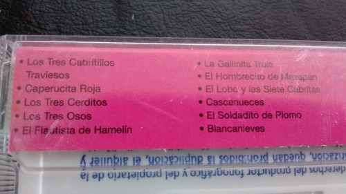 cassette de cuento  --los tres ositos (329