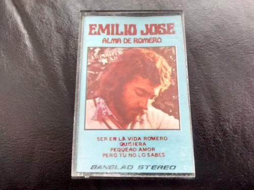 cassette de emilio jose alma de romero (c-183