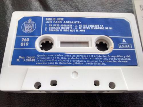 cassette de emilio jose  un paso adelante (c--192