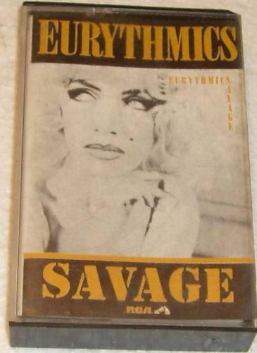 cassette de eurythmics - savage