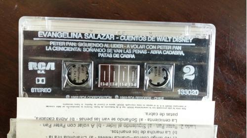 cassette de evangelina salazar cuentos de walt disney (c-574