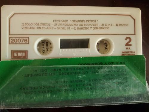 cassette  de fito paez -grandes exitos (c-324