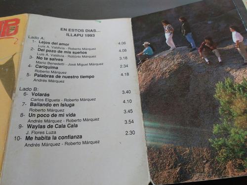 cassette de illapu en estos dias (c-101