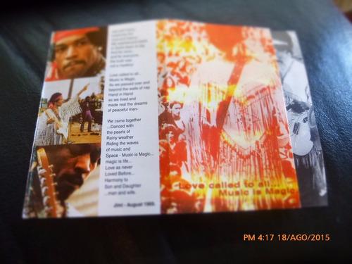 cassette de jimi hendrix woodstock polydor (c-220
