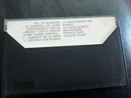 cassette de joan manuell serrat  para piel de manz(c-191