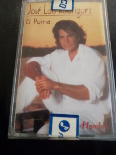 cassette de jose luis rodriguez - piel de hombre (c-332
