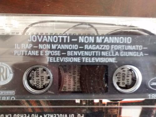 cassette de jovanotti - non m'nnoio (c-199