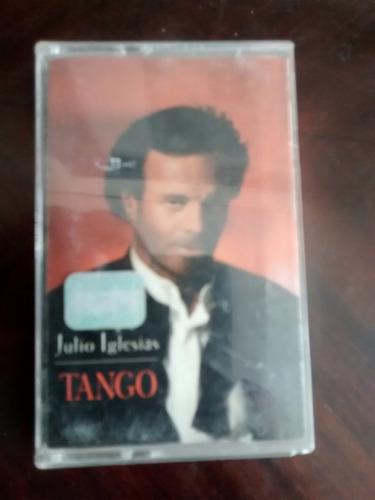 cassette de julio iglesias -- tango (c-188