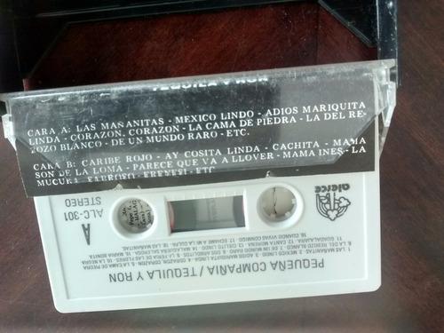 cassette de la pequeña compañia - tequila y ron(c-186