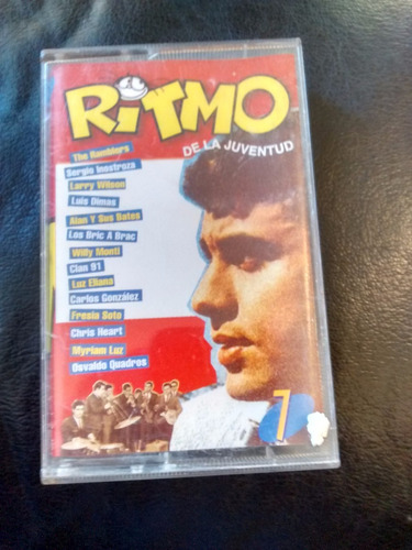 cassette de la revista ritmo de la juventud n°7(c-46