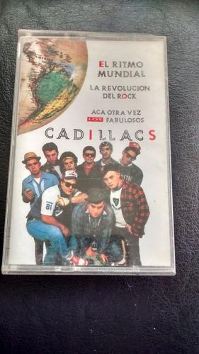 cassette de los fabulosos cadillacs el ritmo mundial(c-250