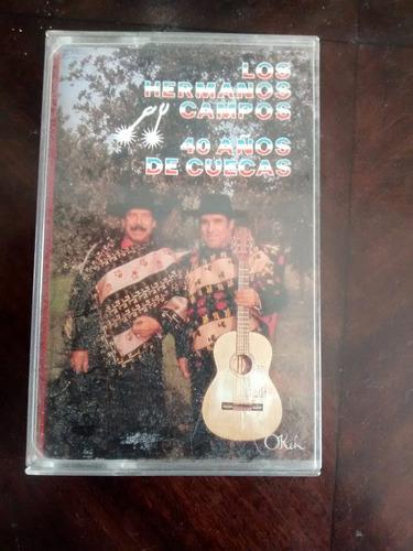 cassette de los hermanos campos : 40 años de cue (c-207