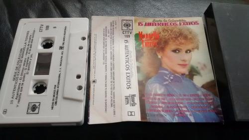cassette de manoella torres  --grandes exitos (c-338