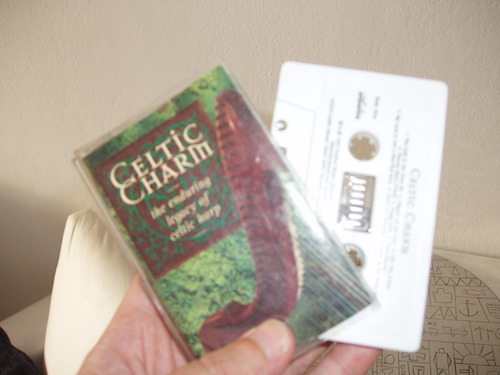 cassette de música de arpa celta celtic charm