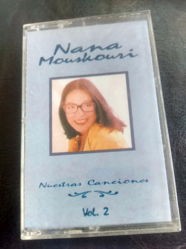 cassette de nana mouskouri - nuestras canciones (c-184