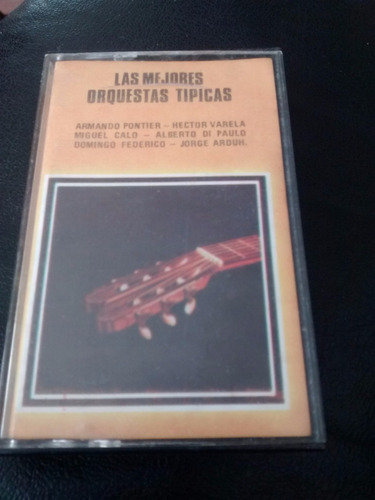 cassette de orquestas tipicas -hector varela(287