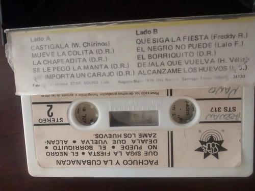 cassette de pachuco y la cubanacan estelar (c-340