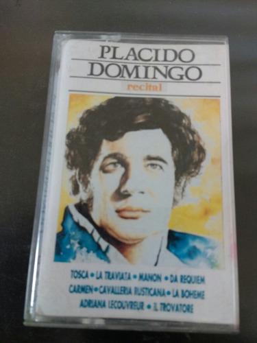 cassette de plácido domingo recital (c-123