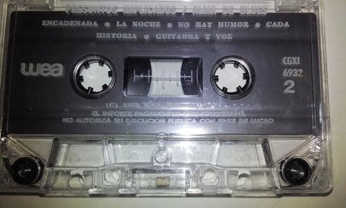 cassette de presuntos implicados. alma de blues