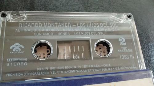 cassette de ricardo montaner --  los hijos del sol (c-334