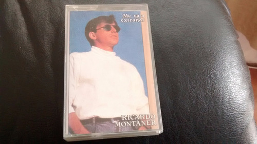 cassette de ricardo montaner -- me va a extrañar (313