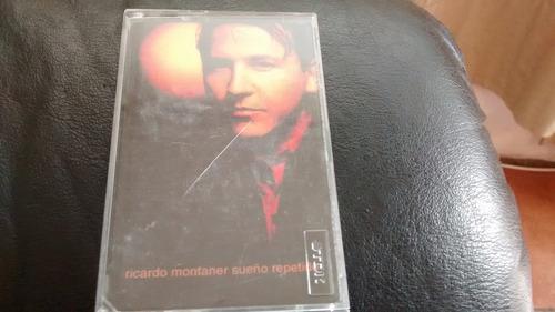 cassette de ricardo montaner --  sueño repetido (c-320