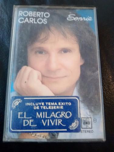 cassette de roberto carlos -el milagro de vivir (c-298
