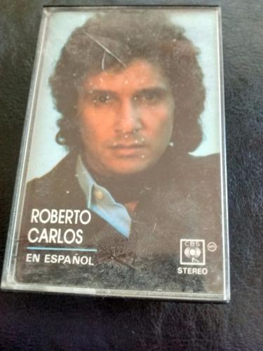 cassette de roberto carlos en español (c-178