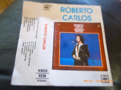 cassette de roberto carlos  --lady laura (c-222