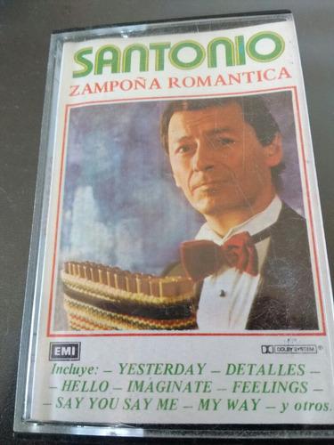 cassette de santonio sampoña romántica (c-104