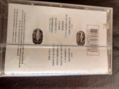 cassette de sergio dalma .- cuerpo a  cuerpo (c-195