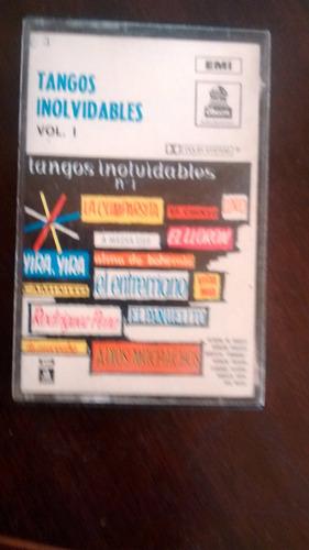 cassette de tangos inolvidables(c-368