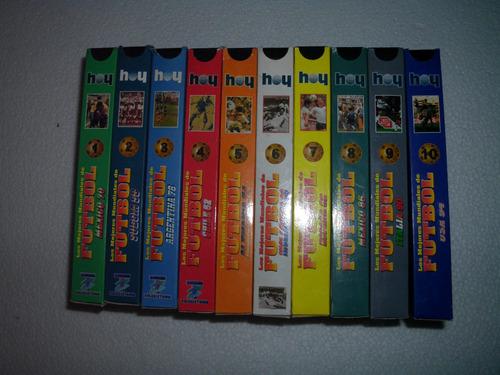 cassette de vhs colección mundiales de futbol
