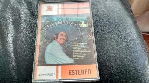 cassette de vicente fernandez -- tahur (c-319