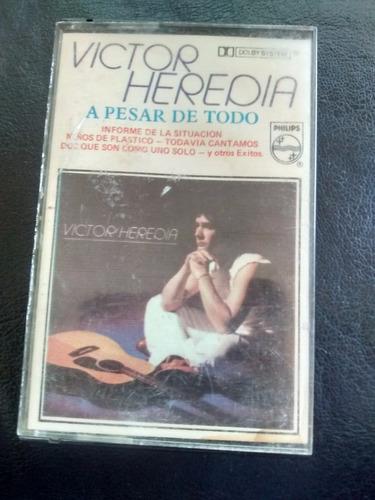 cassette de victor heredia - a pesar de todo (201