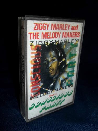 cassette de ziggy marley - shakin' the tree