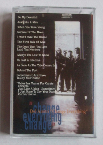 cassette del amitri - change everything
