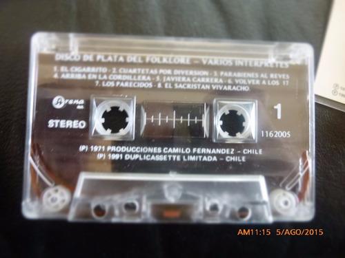 cassette - disco de plata del folklore --arena (c-211