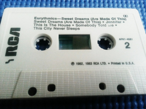 cassette eurythmics