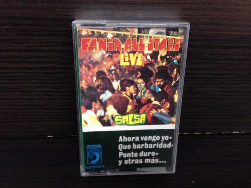 cassette fania all star live salsa (ed.usa)