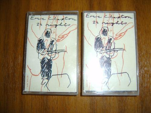 cassette heric clapton / 24 nights vol.1 y 2